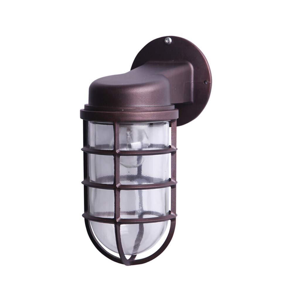 レトロ屋外壁ランプ防水ガーデン照明屋外ヴィラガーデンバルコニーテラス階段ドアライト B07KK2FXSS