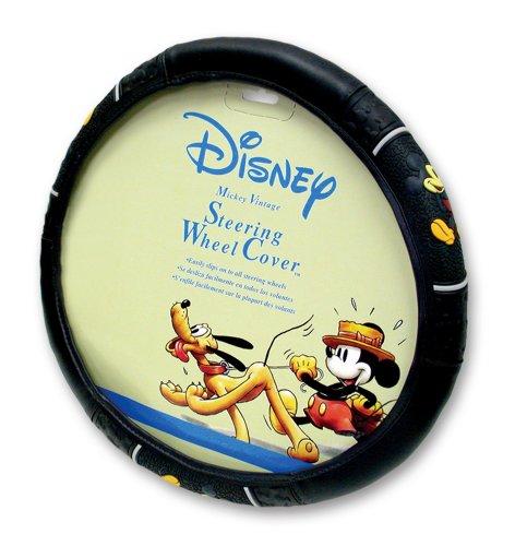 Plasticolor 006318R01 Vintage Mickey Style Steering Wheel Cover
