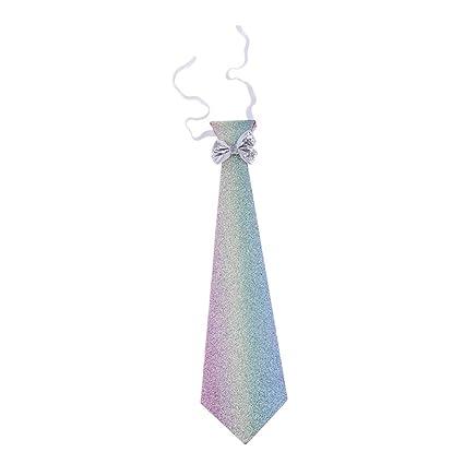 FLAMEER Corbata para niños, en dos colores, corbata infantil con ...