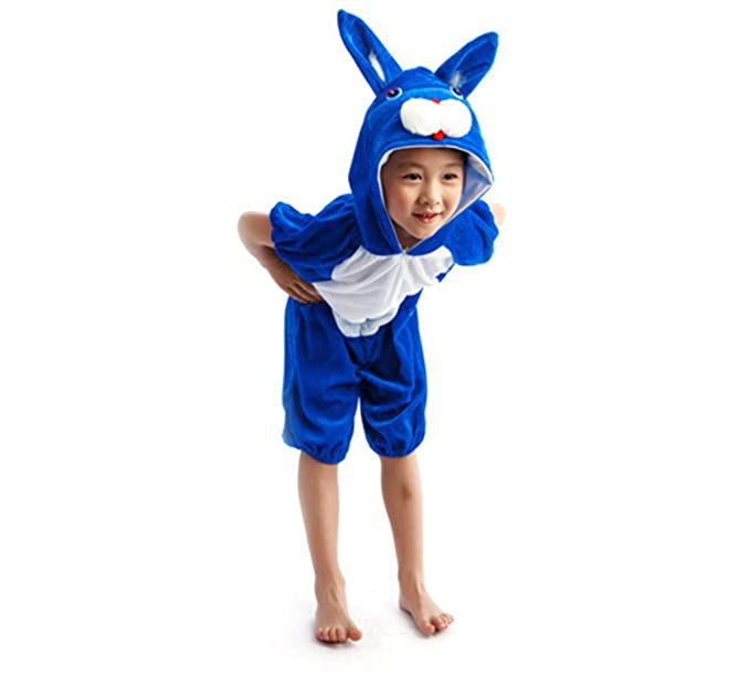 4ac86572a87 Amazon.com  Kids Animal Jumpsuit Costume Romper Frog Mouse Rabbit Chicken  Cartoon Pajamas  Clothing