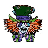 DeezDeals Various Styles - Festival Heady 420 Dab Pins Quality Enamel Lapel Hat & Apparel Pin (Mad Hatter)