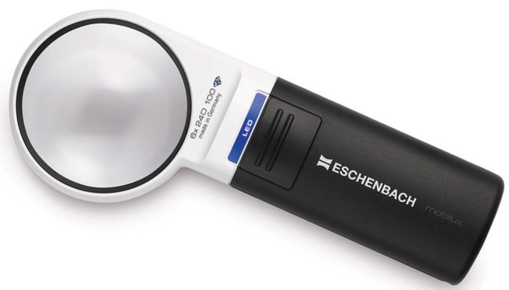 Eschenbach Mobilux 15116 LED Magnifier x6 magnification