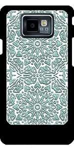 Funda para Samsung Galaxy S2 (GT-I9100) - Patrón De Color Turquesa Brillante by Andrea Haase