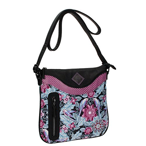 Catalina Estrada Jungle Borsa Messenger, 26 cm, Multicolore