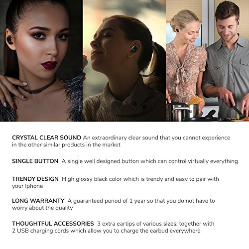 durable service bluetooth earbuds, PETCORE best wireless earbud portable for android and iphone (One piece), premium quality, built-in mic, BUY NOW for the BEST earbud (LIMITED DISCOUNT OFFER)