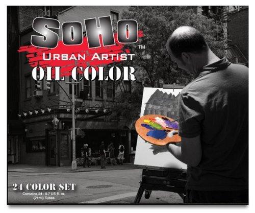 Soho Urban Artist 24 Oil Color Set (Soho Oil)