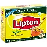 C-LIPTON DECAFFEINATED TBAGS 72CT