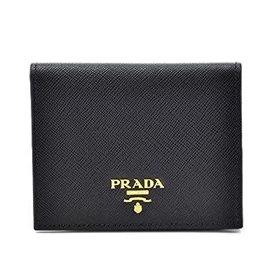 reputable site 1f493 3ab32 Amazon | PRADA(プラダ) サフィアーノ 財布 二つ折り レディース ...