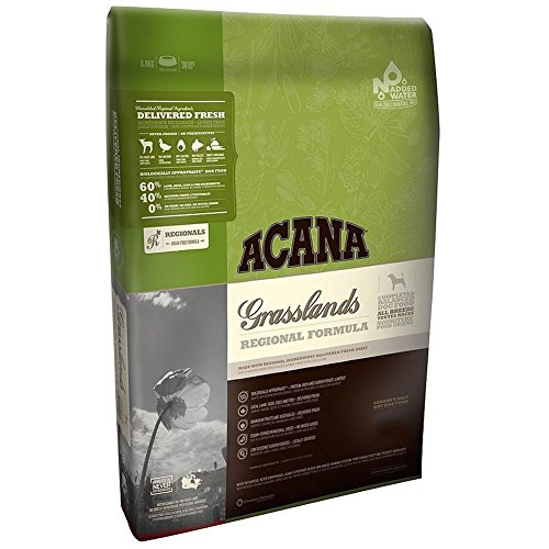 Acana Grasslands Grain Free Dry Dog Food 15 Pound Bag