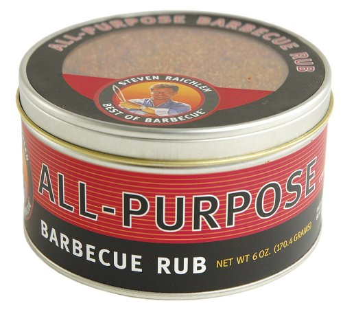 Steven Raichlen Bbq (Steven Raichlen Best of Barbecue All-Purpose Barbecue Rub, 6 Ounces)