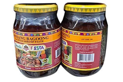 (Philippines Barrio Fiesta Filipinos Ginisang Bagoong Sauteed Shrimp Paste 17.6oz)
