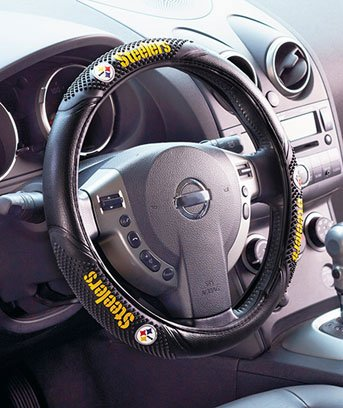 NFL Team Logo Massage Steering Wheel Cover
