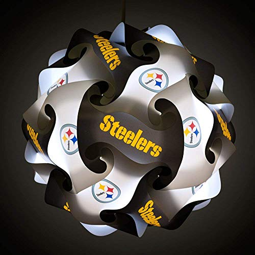lf-Assembly Lighting System for Patios, Garages, Man Caves - NFL Officially Licensed Item (Pittsburgh Steelers) ()