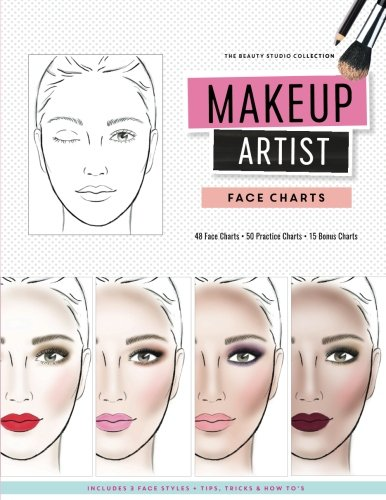 091cce9c3 Makeup Artist Face Charts (The Beauty Studio Collection): Amazon.co ...