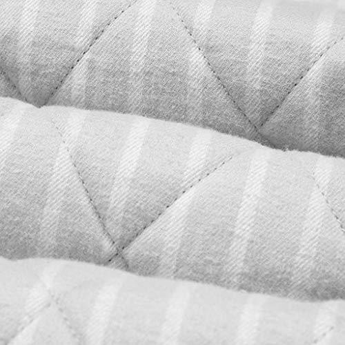 Regalo In Abito Accappatoio Da Il color Strisce Con Gray Invernale Gray Pigiama Lunga M Cotone La Manica A Casa Due Cardigan Size Uomo Pezzi Pigiami Miglior Per Intrecciato PUxnX