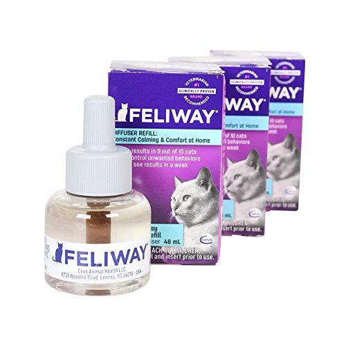 Ceva Feliway Plug In Diffuser Refill  48 Ml  3 Pack