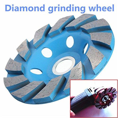 Doradus 4 Zoll 6 Loch Diamant Segment Grinding Schalen Rad Scheibenmahlwerk Granit Stein