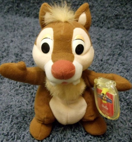 Disney Rescue Rangers Chip and Dale 7 Inch Plush Dale Doll