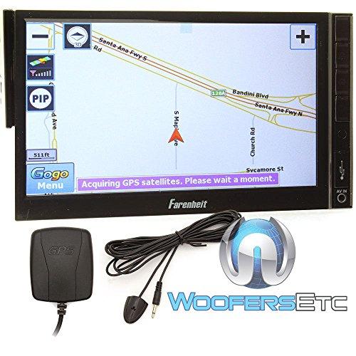 Farenheit F-721NX Ingenix GPS Navigation In-Dash Single D...