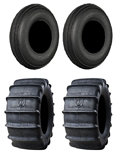 Full set of Pro Armor Sand 30x11-14 and 30x14-14 ATV Tires (4) -