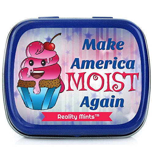 Gears Out Make America Moist Again Mints Funny Adults Easter Ideas for Grownups Stocking Stuffers Naughty Gags for Friends Peppermint Breath Mints Day Just Because Weird Political Products MAGA ()