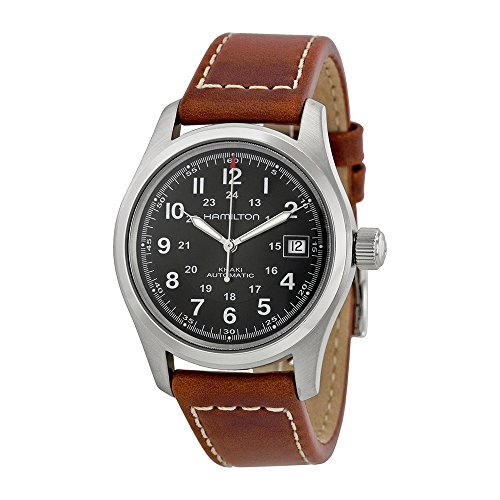 Hamilton Black Wrist Watch - 4