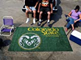 NCAA Novelty Starter Mat Size: 5' x 8', NCAA Team: Colorado State