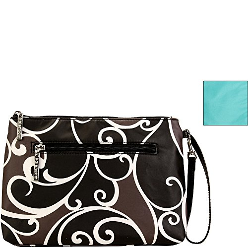 Kalencom Portable Changing Station, Surf, Water Resistant Diaper Clutch Baby Changing Bag