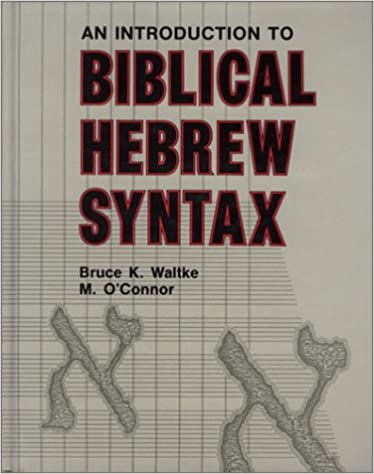 Amazon introduction to biblical hebrew syntax 9780931464317 introduction to biblical hebrew syntax fandeluxe Gallery