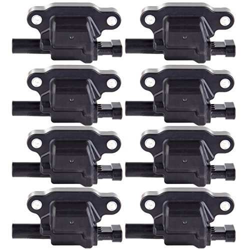 ECCPP Ignition Coils Pack of 8 Compatible with Buick GMC Cadillac Chevrolet 2005-2016 Replacement for C1511 ()