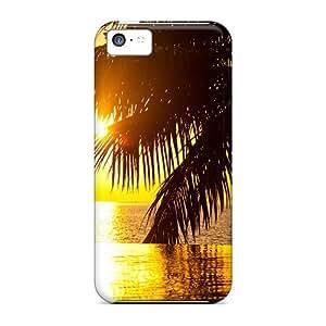 XiFu*MeiNew Bora Bora Tahiti Sunset Cases Covers, Anti-scratch Mycase88 Phone Cases For iphone 4/4sXiFu*Mei