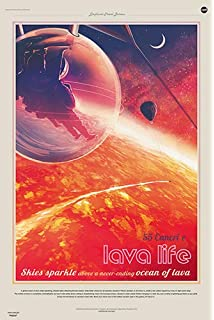 """Ceres 24x36/"""" Queen of the Asteroid Belt NASA JPL Space Travel Poster"""