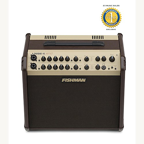 Fishman Loudbox Artist 120W Acoustic Combo Amplifier with 1 Year Free Extended Warranty by Fishman