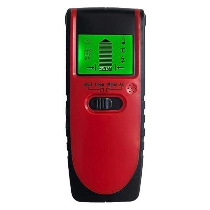 iShinè_Tools Detector de Pared Detector de Metales Detector de Madera Instrumento de detección de Voltaje para