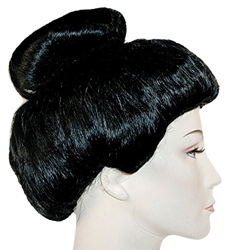 Lacey Wigs Geisha Girl Super Deluxe Black -