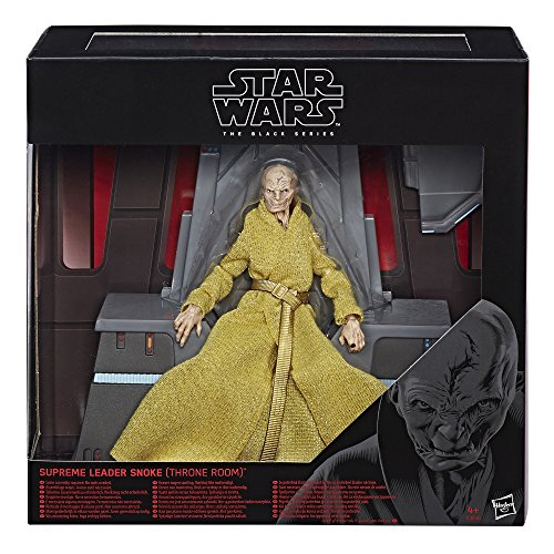 Star Wars Black Series Supreme Leader Snoke (Throne Room) Exclusive 6 Action Figure