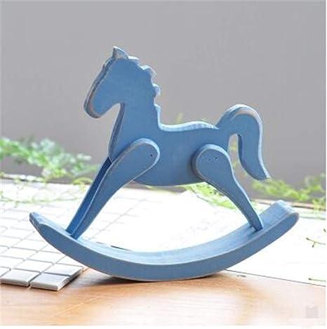 Cavallo A Dondolo Artigianale.Casa Creativa Decorazioni Per La Casa Decorazione