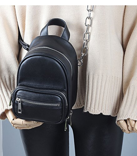 YLLXX Shoulder Shoulder Bags Mini Backpack Crossbody Bags Female Chain Coarse t5Bxwdq4aw