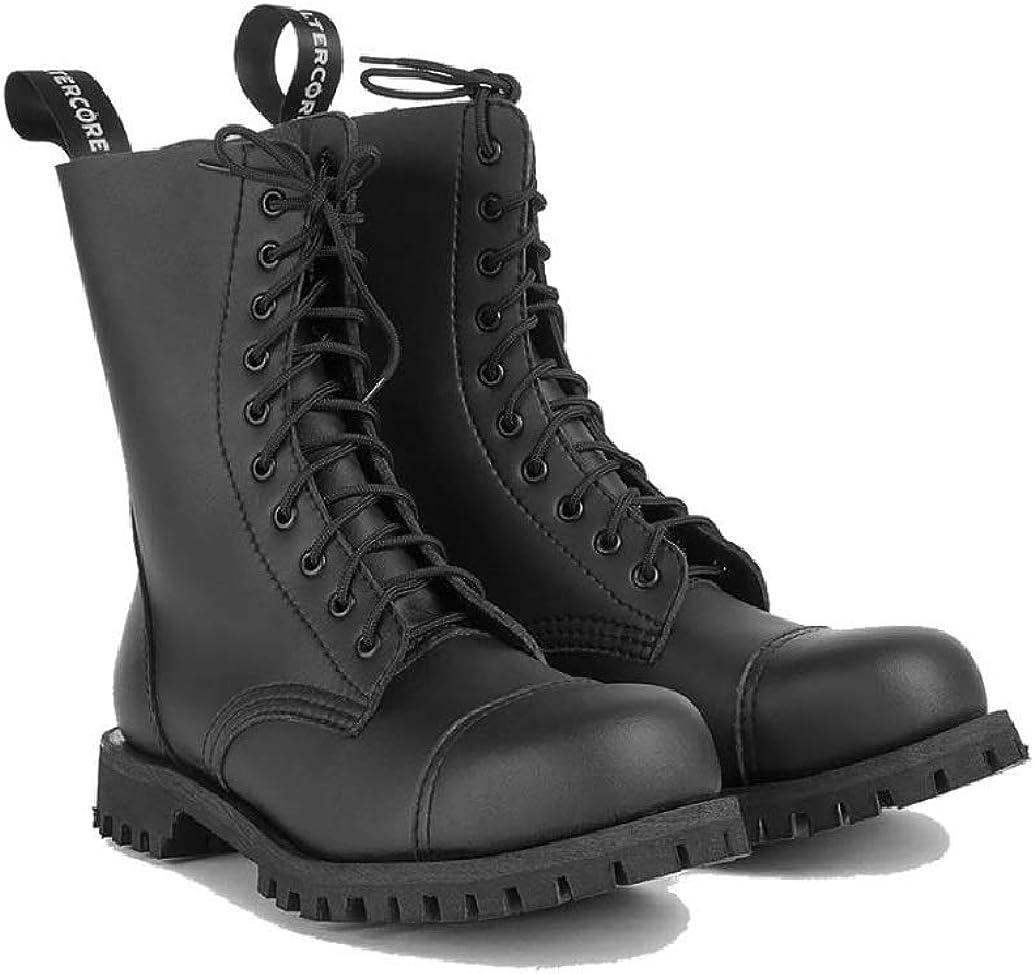 Altercore 551 Combat Boots Black Vegan