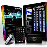 OPT7 Aura Smart-Color LED Strip Interior Lighting Kit (4 Items)