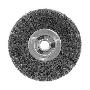 Maryland Brush 41216 AP834 0.0104 8 x 1 x 1 AH 8 Narrow Crimp Wire Wheel