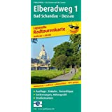 Elberadweg 1, Bad Schandau - Dessau: Leporello Radtourenkarte mit Ausflugszielen, Einkehr- & Freizeittipps, wetterfest, reissfest, abwischbar, GPS-genau. 1:50000 (Leporello Radtourenkarte / LEP-RK)