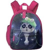 Cute Panda Kids School Bag Travel Backpack Bookbags For Little Boys Girls