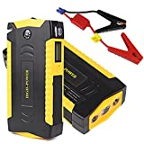 Car Jump Starter,69800 mAh 600A Peak Current Auto Battery Booster Portable Battery Pack Power Bank for Cell Phones Laptop with LED SOS Light Compass