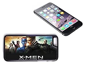 iPhone 6 Plus Black Plastic Hard Case with High Gloss Printed Insert Xmen Days Of Future Passed by icecream design