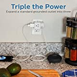 Philips 3-Outlet Extender, Extra-Wide Adapter