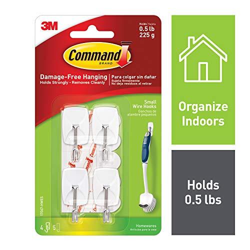 Command Toggle Hooks, Indoor Use, Decorate Damage-Free (17067-HWES)
