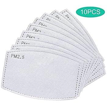 PM 2.5 Filtro de carbón activado, papel de filtro antiniebla reemplazable Herramientas y Mejoras del Hogar Mascarillas y Respiradores Material y Accesorios de Seguridad Laboral Protección y Seguridad
