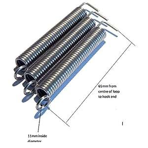 Para guitarra eléctrica Trémolo Muelles Set de tres tensión media, Stratocaster, Strat: Amazon.es: Instrumentos musicales