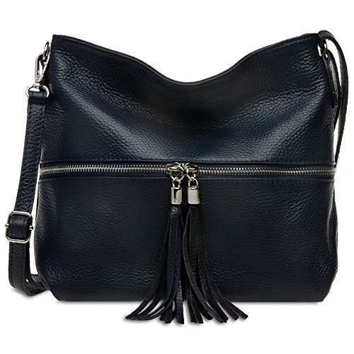 pour en à main Bleu femme sac Foncé et TL784 élégant Sac bandoulière classique Caspar cuir 1WnFzpwx
